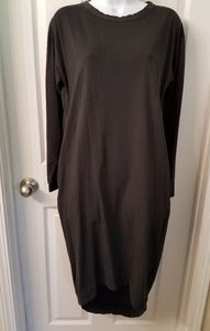 Dark gray, Zara dress
